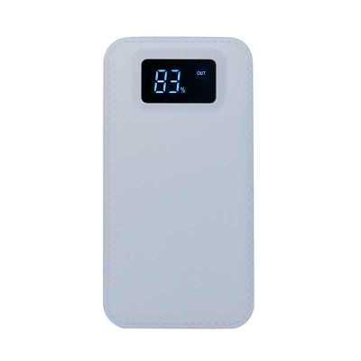 qi-brindes - Power Bank Plástico com Visor Digital  personalizado