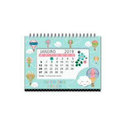 QI Brindes - Calendário de mesa