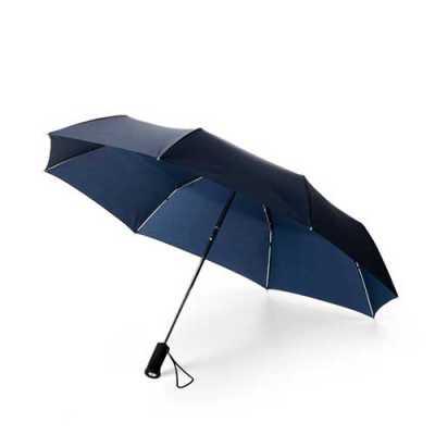 QI Brindes - Guarda-chuva dobrável com lanterna personalizado