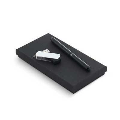 Kit pen drive e caneta personalizado