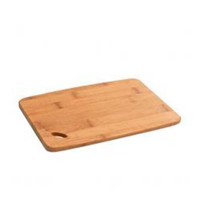 QI Brindes - Tábua de queijos. Bambu. Food grade. 200 x 143 x 9 mm,  Personalização a laser