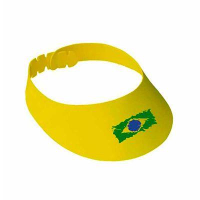 - Viseira de EVA Personalizada. Disponível em cores variadas e com personalização da logomarca em silk.  Entregamos em todo o Brasil. Esse brinde é de b...