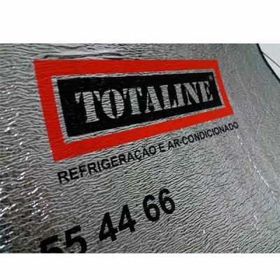 work-promo - Protetor solar para carros em polipropileno expandido, acoplado ao poliéster prata frente e verso, acabamento em viés colorido.