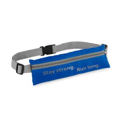 Bolsa de Cintura Personalizada em Rip Stop 210D (Tecido de alta resistência). Com saída para fone de ouvido. Tamanho: 250 x 80 mm. Disponível nas core... - Tiff Gráfica