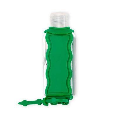 Chaveiro Porta Álcool Gel Personalizado + Frasco de álcool em gel de 60ml