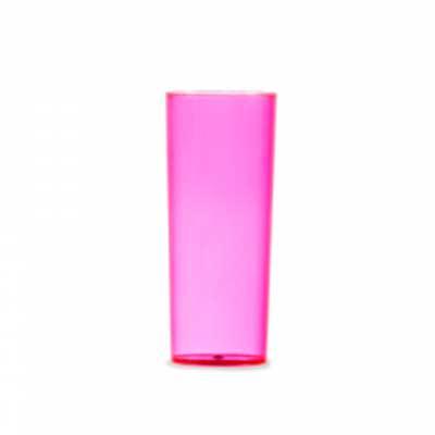 tiff-grafica - Copo Long Drink 330ml, material acrílico translúcido ou leitoso. Personalização em Silkscreen.