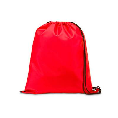 tiff-grafica - Mochila saco em Nylon inteira colorida, com duas alças para costa, fechamento superior. Personalização em Silkscreen.