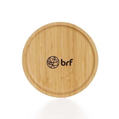 Petisqueira de Bambu Personalizada