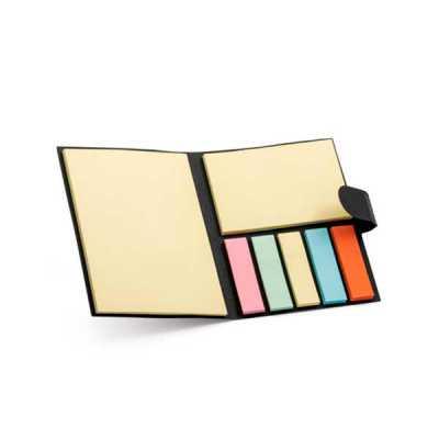 Bloco de anotação com sticky notes - Tiff Gráfica