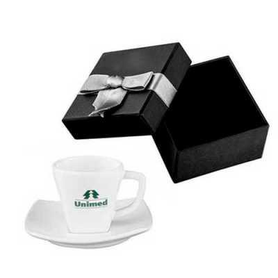 Xícara de café Personalizada com caixa para presente - Tiff Gráfica