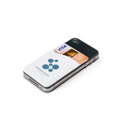 tiff-grafica - Porta Cartão para Celular Personalizado