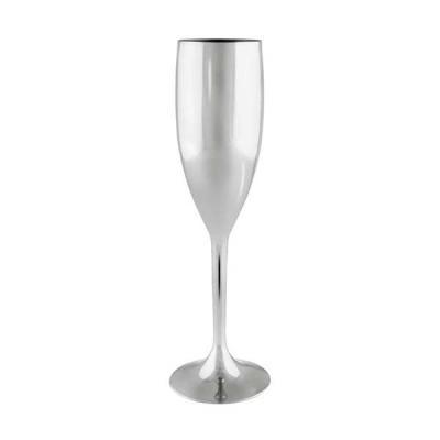 Tiff Gráfica - Taça Champanhe confeccionada em acrílico. Capacidade 160 ml, alta durabilidade e qualidade. Várias cores. Personalização em Silkscreen.