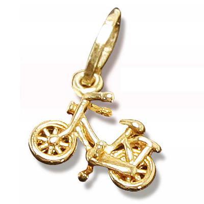 Fox Brindes que Valem Ouro - Pingente Bike Miniatura, vários modelos de pingentes,  folheados a ouro 18K ou prata, com garantia, personalizada de acordo com ao projeto do cliente,...