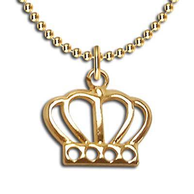 Fox Brindes que Valem Ouro - Colar coroa promocional