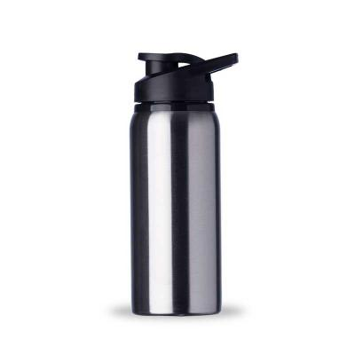 Maxim Brindes - Squeeze alumínio de 600ml com pintura fosca. Com tampa plástica rosqueável, alça e tampa protetora para o bocal.