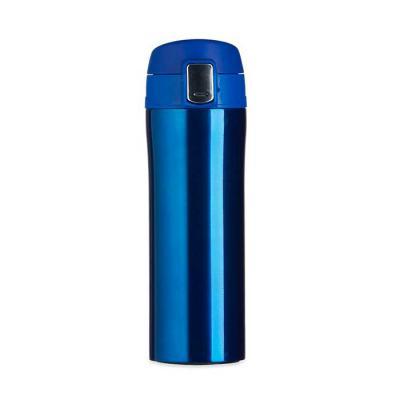 Garrafa térmica metálica 350ml com revestimento interno em Inox - Disponível em 3 cores