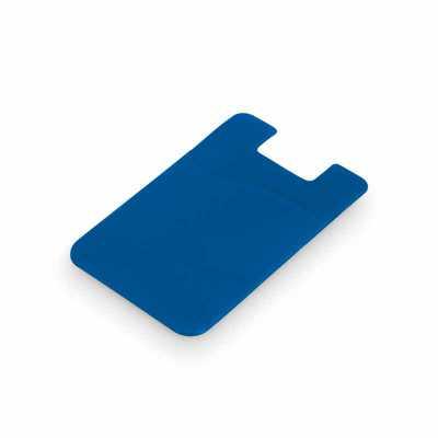 Maxim Brindes - Porta cartões para celular em PVC com autocolante - Diversas cores