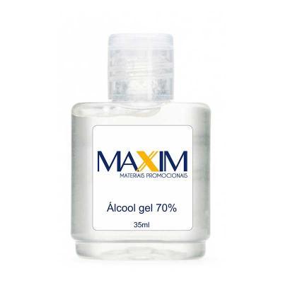 Álcool gel antisséptico 35ml Personalizado