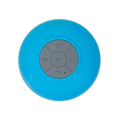 Caixa de som bluetooth à prova d água. Diversas cores.