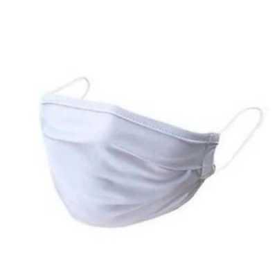 Mascara de proteção em tecido 100% algodão lavável