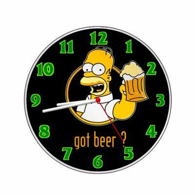 Comercial Riflad - Relógio personalizado