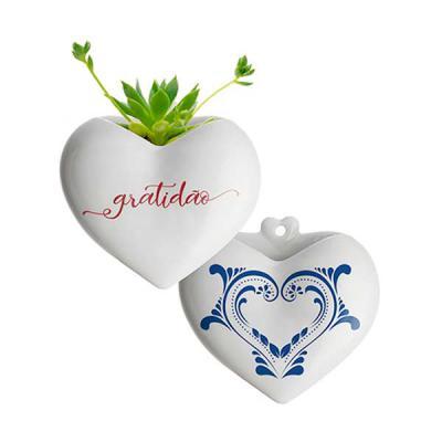 rg-ideias - Vaso de parede formato Coração