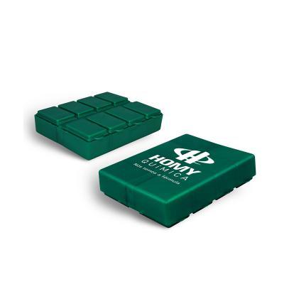 MAIZ BRINDES - Porta Comprimidos com Compartimentos com Tampa para Cada Dia da Semana  Material plástico especial rígido  Com compartimentos com tampa  Cores Neon...