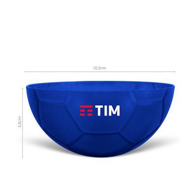maiz-brindes - Petisqueira Formato Bola de Futebol Translúcida com Tampa 240ml • Capacidade de 240 mL • Material plástico resistente translúcido e atóxico • Pode ser...