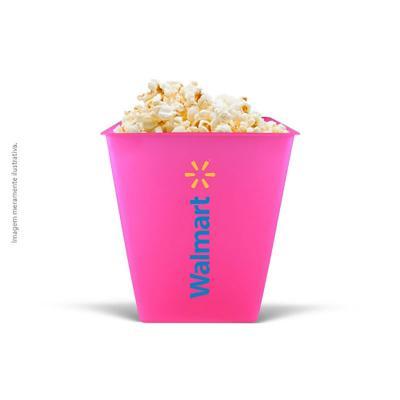 maiz-brindes - Balde de Pipoca 2,6L • Capacidade de 2,6L • Material plástico PS cristal de alta resistência • Cores Neon: verde, amarelo, rosa, laranja • Cores Stand...