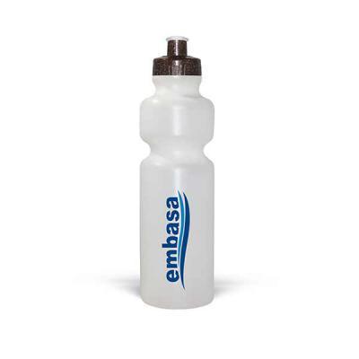 Squeeze Ecológico 750ml Resistente e Flexível com Bico de PVC Cristal Fabricante: Maiz Brindes   Squeeze Ecológico com fibra de coco ou madeira   ... - Maiz Brindes