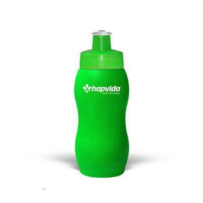 Squeeze 250ml Resistente e Flexível com Bico de PVC Cristal Fabricante: Maiz Brindes   Squeeze de Plástico Capacidade 250ml Resistente e flexíve... - Maiz Brindes