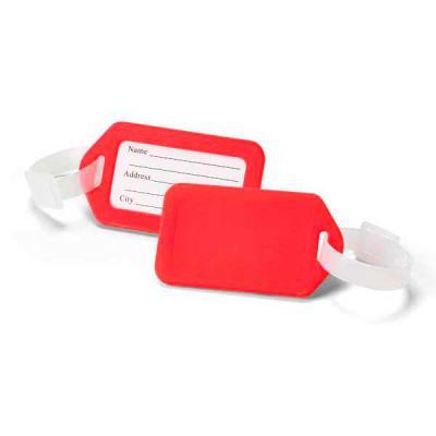 Marketing Brindes - Identificador de bagagem. PP. Ideal para malas de viagem. 87 x 50 x 4 mm