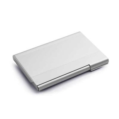 cia-brindes - Porta cartões. Alumínio. 95 x 65 x 7 mm