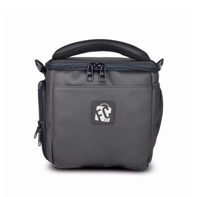 c56b7574531 FCFIT Bolsas Thermal Bags - Bolsa Térmica Compacta Preta Emborrachada Ideal  para carregar até 7 (