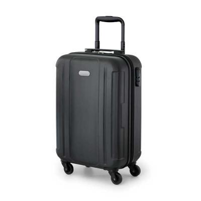 FCFIT Bolsas Thermal Bags - Mala de viagem executivo. ABS. Interior forrado, com divisória. 4 rodas giratórias. Pega extensível em alumínio, com mola (altura da pega estendida at...