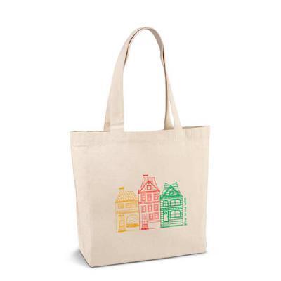 FCFIT Bolsas Thermal Bags - Sacola. 100% algodão canvas: 280 g/m². Com bolso interior e alças de 65 cm. 450 x 380 x 105 mm