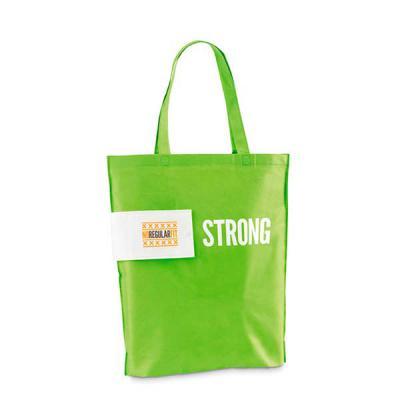 FCFIT Bolsas Thermal Bags - Sacola dobrável. Non-woven: 80 g/m². Termo-selado. Alças de 50 cm. Fornecido dobrado. Dobrado: 110 x 132 mm | Aberto: 360 x 410 x 80 mm