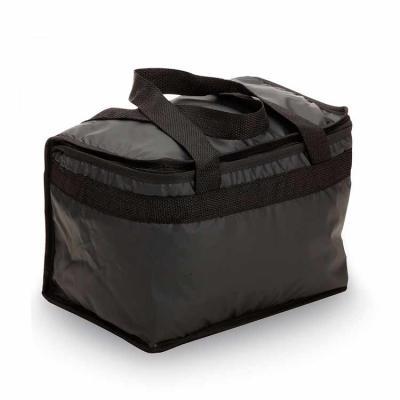 Bolsa térmica 13 litros em bagum sintético com alça para mãos em polipropileno, revestimento inte...