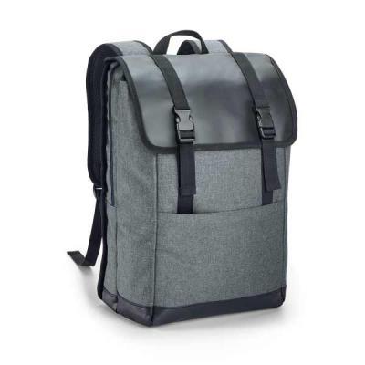 fcfit-bolsas-thermal-bags - Mochila para notebook. 600D de alta densidade e tarpaulin. Com 2 compartimentos. Compartimento posterior forrado, com diversos bolsos interiores e 2 d...