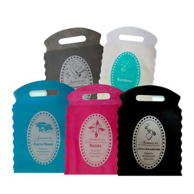 Croma Microencapsulados - Saquinhos aromáticos para carro. Além de organizar o lixo de seu carro, ele deixará o seu carro perfumado.  Fragrâncias: Amadeirado Cítrico, Lavanda,...