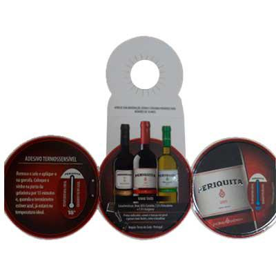 Croma Microencapsulados - Cartão - Termômetro de vinho