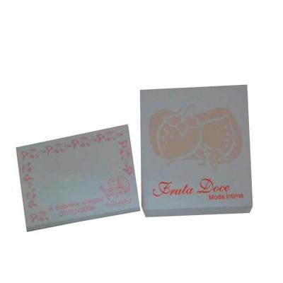 Stick Pad / Bloco de anotação perfumado / Bloquinho sticky notes perfumado. - Croma Microencapsulados