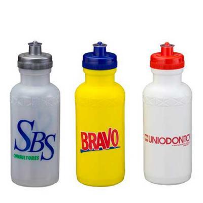 - O Squeeze de Plástico 500ml é um brinde perfeito para a divulgação da sua marca. Fidelize seu cliente divulgando sua marca com os brindes da Renova Br...