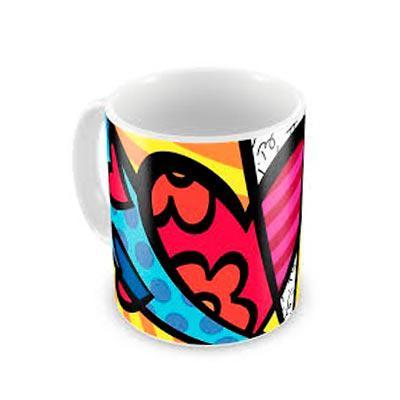 renova-brindes - Caneca cerâmica personalizada de 300ml branca, ideal para sublimação.Medidas aproximadas para gravação (CxD): 9 cm x 6 cm  Tamanho total aproximado (C...