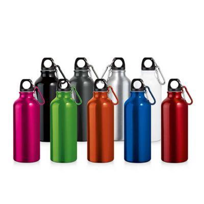 Zoom Brinde - Squeeze de Alumínio Personalizado  Medida 6,6 x 21 cm  Gravação em Silk e Laser  A melhor propaganda é feita por clientes satisfeitos