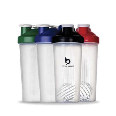 - Coqueteleira 600ml plástica para Shake personalizada. Possui medidas em ml e oz, detalhes em relevo nas laterais e mola para misturar. Tampa de rosca...