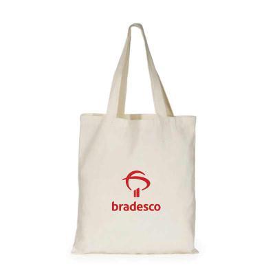 Zoom Brinde - Sacola 100% algodão (ecológica)  com alças costuradas na parte interna - Medida 40X35 cm  OBS: Temos diversos modelos e tamanhos.