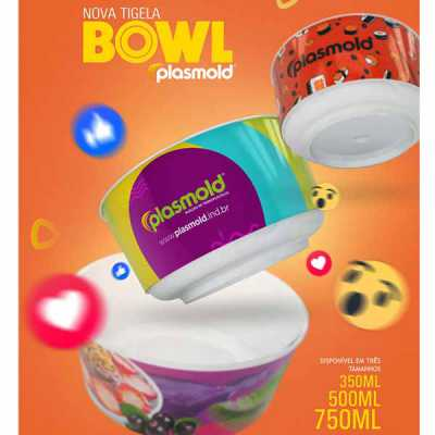 Bowl In Mold Label