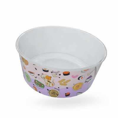 Tigela Bowl personalizado in mold Label