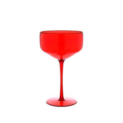 Taça Coupe vermelho